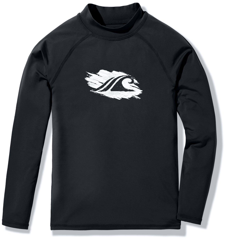 Sunscreen Swimwear Shirts TSLA Girls Long Sleeve Rash Guard Swimsuit UPF 50 UV//SPF Water Beach Surf Swim Shirt