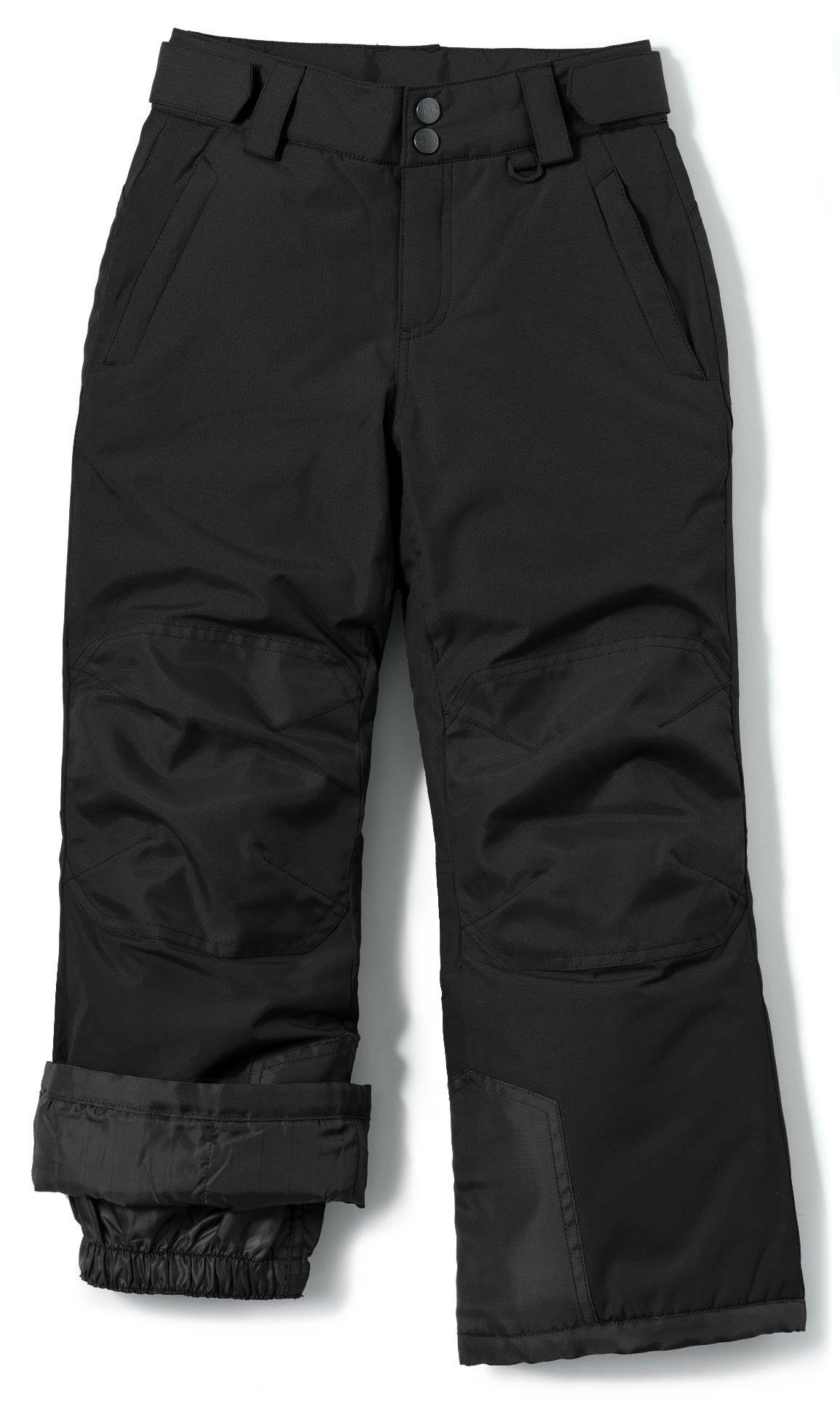 TSLA Mens Fleeced Line Tactical Cargo Hiking Water Repellent EDC Winter Pants